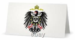 Medieval Royal German Knight Prussian Kaiser Battle War Eagle Medal Uniform King