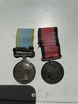 Named Victorian KIA Crimean War Medal Pair, Royal Fusiliers