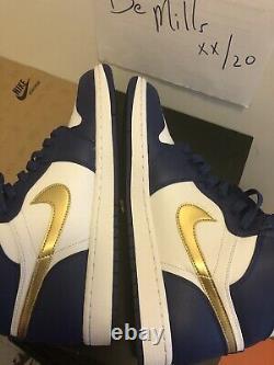 Nike Air Jordan 1 I High Og Sz 11.5 Gold Medal Royal