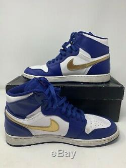 Nike Air Jordan 1 I Retro High Olympic Gold Medal Royal 332550-406 Size 12