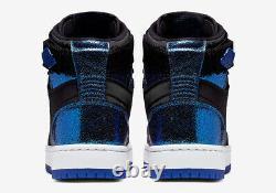 Nike Air Jordan 1 Nova XX Black Game Royal Blue Shoes Gym AV4052-041 Size 8