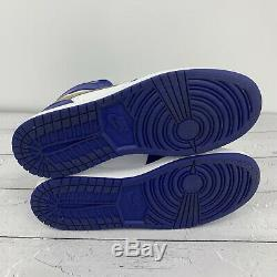 Nike Air Jordan 1 Retro High BG Gold Medal Deep Royal Blue 705300-406 Size 7Y