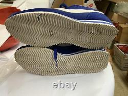 Nike Cortez Basic Nylon Long Beach LBC Old Royal White Gold 902804-400 Mens 9.5