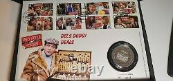 Only Fools and Horses Silver Medal Cover No. 0031 0032 Royal Mail Limited Edition