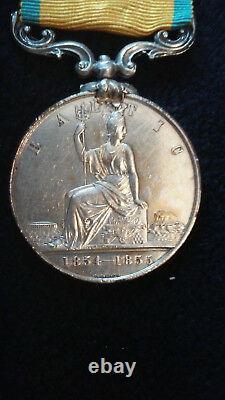 Original British Baltic Medal, Ca. 1854-1855, Royal Navy/Marines