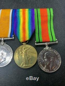 Original WW1 4x Medal Group Named Gunner N Harris Royal Artillery WW2 HG