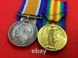 Original WW1 Medal Pair, Officer, Lt. T. C. R. Murphy, Imperial Light Horse
