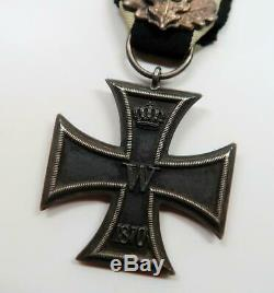 Prussian Knight 1870 Iron Cross medal Imperial badge WWI German WWII US Vet buy
