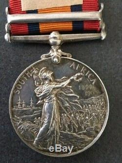 Queens South Africa Medal Lynch Royal Irish Fusiliers