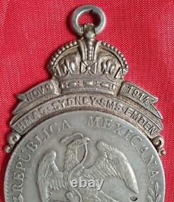RARE! Original HMAS Sydney SMS Emden Medal Royal Australian Navy Action
