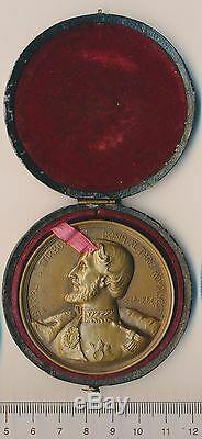 ROMANIA Royal 1912 medal ROMANIAN prince STIRBEY Craiova WALLACHIA ultra RARE