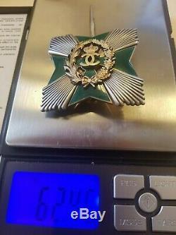 ROMANIA Royal AGRICULTURAL Merit ORDER Romanian STAR MEDAL Grand Officer CROSS R