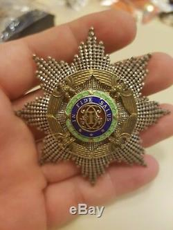 ROMANIA Royal ORDER Romanian STAR MEDAL Great Grand Officer CROSS Carol II 1936