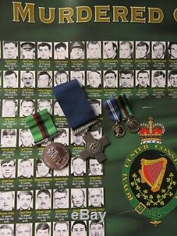 RUC ROYAL ULSTER CONSTABULARY MEDAL CONST J SMYTH Picked to sell
