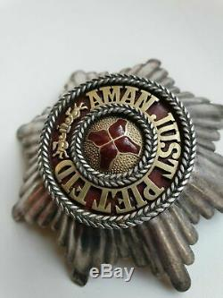 ++ Rare Silver Order Star Of The Order Of Saint Anna Imperial Russia ++
