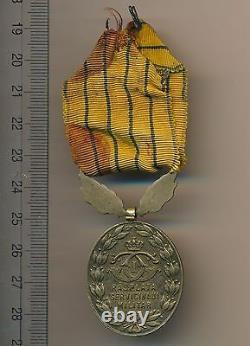 Romanian ROMANIA ROYAL order KINGDOM 15 XV YEARS SERVICE BADGE MEDAL rare ribbon
