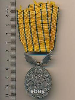 Romanian ROMANIA order ROYAL KINGDOM 20 XX YEARS SERVICE BADGE MEDAL rare ribbon