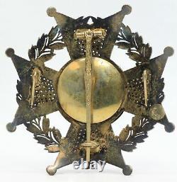Royal & Military Order of Saint Ferdinand Spain Laureate Cross Medal JJ577