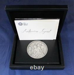 Royal Mint 250g Silver Medal Arthurian Legend in Case with COA