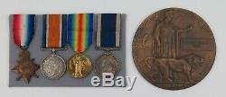 Royal Navy LSGC Medal Group. 1900-16 HMS Black Prince, Jutland. Memorial Plaque