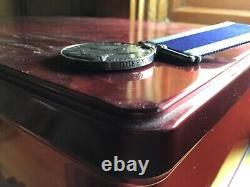 Royal Navy LSGC medal Edward VII to 146851 Chief Stoker J. Small, HMS Fire Queen