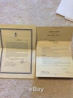 Royal Navy Long service and Good Conduct Medal WW2 JX158411 HALL, R. J. P. O. TEL