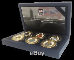 Royal Navy Memorabilia Gold Coin / Medal Swiftsure Class Submarine Box Set
