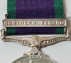 Royal Navy Post Ww2 British General Service Medal Northern Ireland