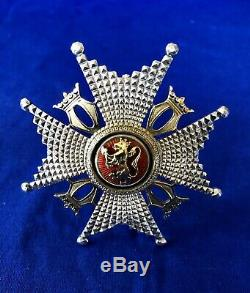Royal Norwegian Order of ST OLAV COMMANDER 1 STAR Saint Olaf Norway medal