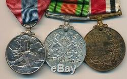 Royal Ulster Constabulary Group of 3 inc Imperial Service Medal & Defence Medal