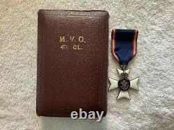 Royal Victorian Order 4th Class Medal