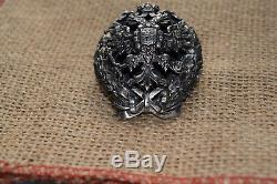 Russian Russia Imperial Tsar Order Medal Badge Academy Graduation General Staff