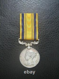 Scarce South Africa 1879 Zulu Medal Nco Royal Durban Rifles