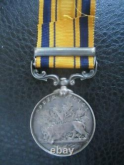 South Africa 1879 Medal N5 Battery Royal Artillery Zulu And 1st Boer Wars