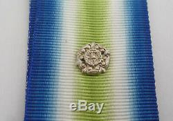 South Atlantic Medal 1982 With Rosette Hms Invincible Royal Navy