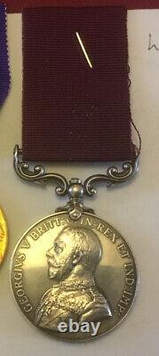 Stunning 6 Medal Set & Plaque BOER WAR WW1 4835 LT. W. S. MULLETT ROYAL SCOTS