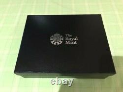 The Royal Mint St George and the Dragon 250g Silver Masterpiece Medal Stunning