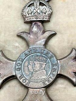 The most excellent order of the British Empire Insignia MBE Medal Royal Mint