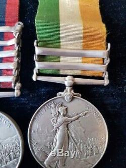 Victorian Boer War Royal Welsh Fusiliers QSA KSA Medal Pair