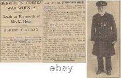 Victorian British Ashantee Medal 1873-74 Royal Navy, Petty Officer, Hoar, Devon