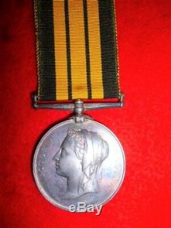 Victorian British Ashantee Medal 1873-74 to Royal Navy, H. M. S. Simoon