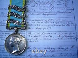 Victorian Crimea medal Alma Inkermann Sebastopol 1st Royal Scots from Co Clare