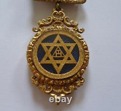 Victorian Royal Arch Masonic Watchcase Jewel Medal