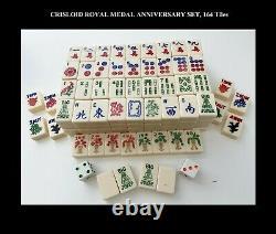 Vintage Meets Modern. A 1970s Complete CRISLOID Royal GOLD MEDAL Mah Jongg Set