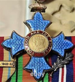 Vintage Ww2 Royal Air Force Cbe Medal Group Air Commodore Leonard Taylor