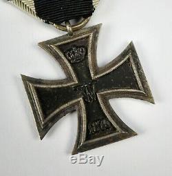 WW1 German Imperial 1870 iron Cross pin jacket medal WWII US war Veteran prinzen