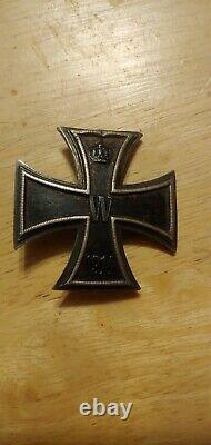 WW1 German Imperial iron cross badge pin jacket medal WWII US war Veteran