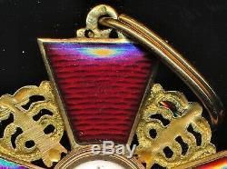 WW1 Imperial russian cross order of saint anne medal war Veteran estate