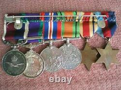 WW2 & Borneo Service Medal Group & Effects to SMITH, Royal Air Force