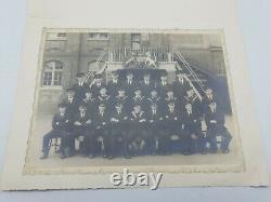 WW2 British Royal Navy Medal Group + Photographs & Paperwork J. Short